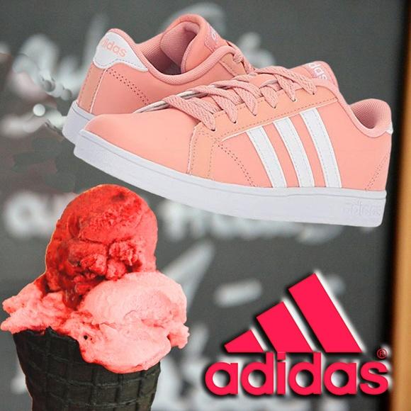 f80d1b0897b5 Adidas Kids Baseline K Sneaker Classic Girls Shoes